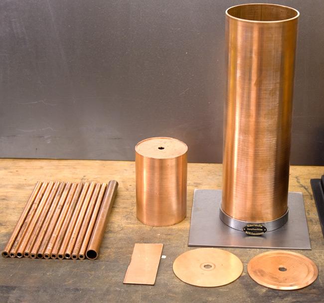 Bau eines stehender Dampfkessel mit Kohlefeuerung - Kessel- Wasser ...